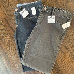 NWT Gap 1969 Always Skinny Jeans 2 pairs size 28